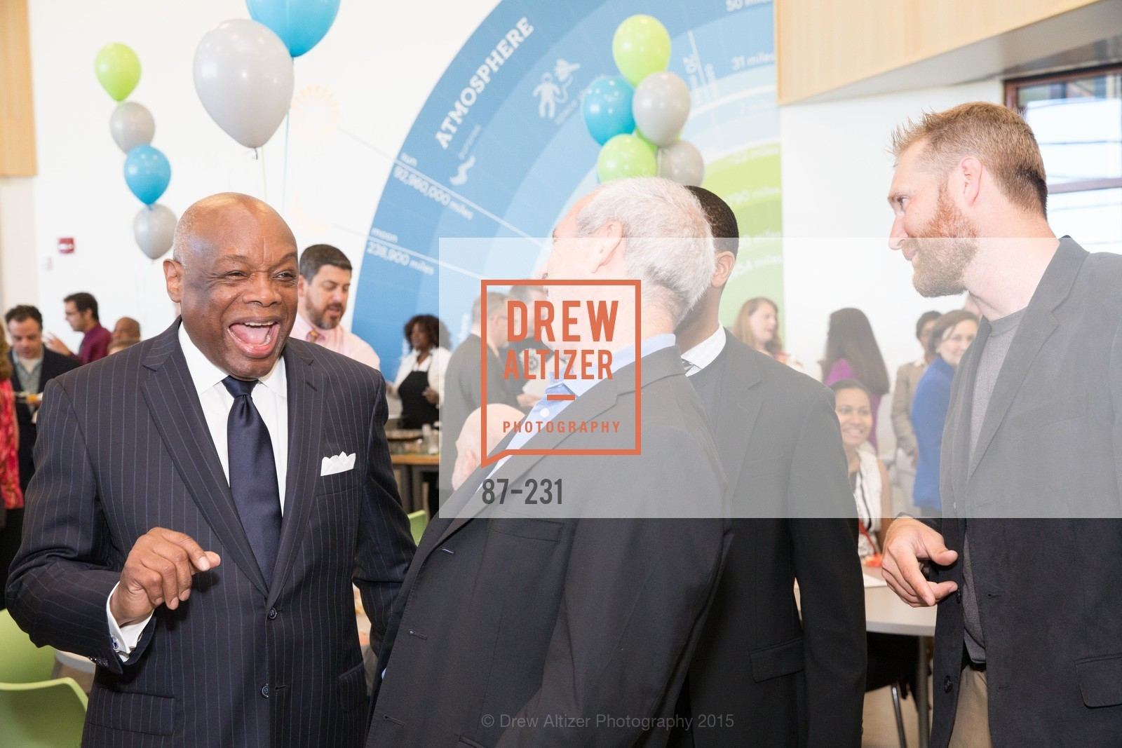 Willie Brown, Willie L. Brown Middle School Ribbon Cutting Ceremony, Willie L. Brown Middle School. 2055 Silver Avenue, August 13th, 2015