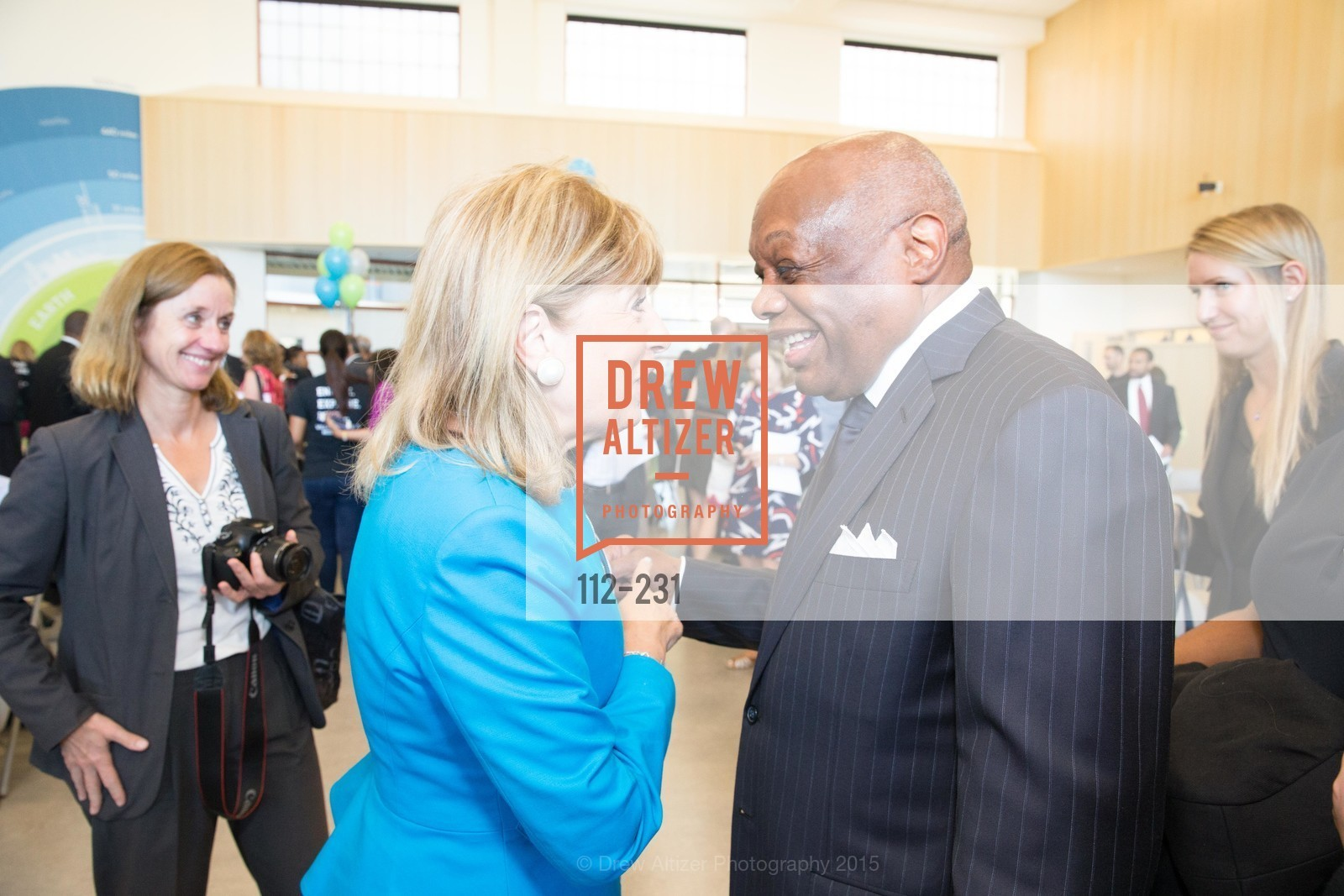 Jackie Speier, Willie Brown, Willie L. Brown Middle School Ribbon Cutting Ceremony, Willie L. Brown Middle School. 2055 Silver Avenue, August 13th, 2015,Drew Altizer, Drew Altizer Photography, full-service agency, private events, San Francisco photographer, photographer california