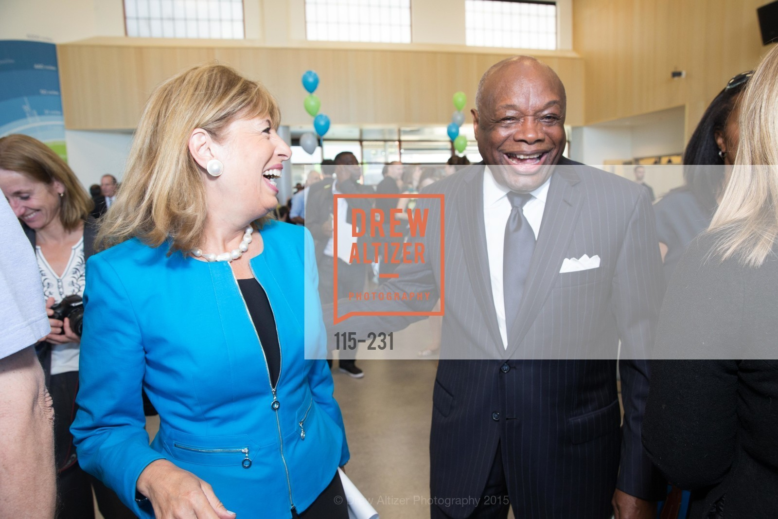 Jackie Speier, Willie Brown, Photo #115-231