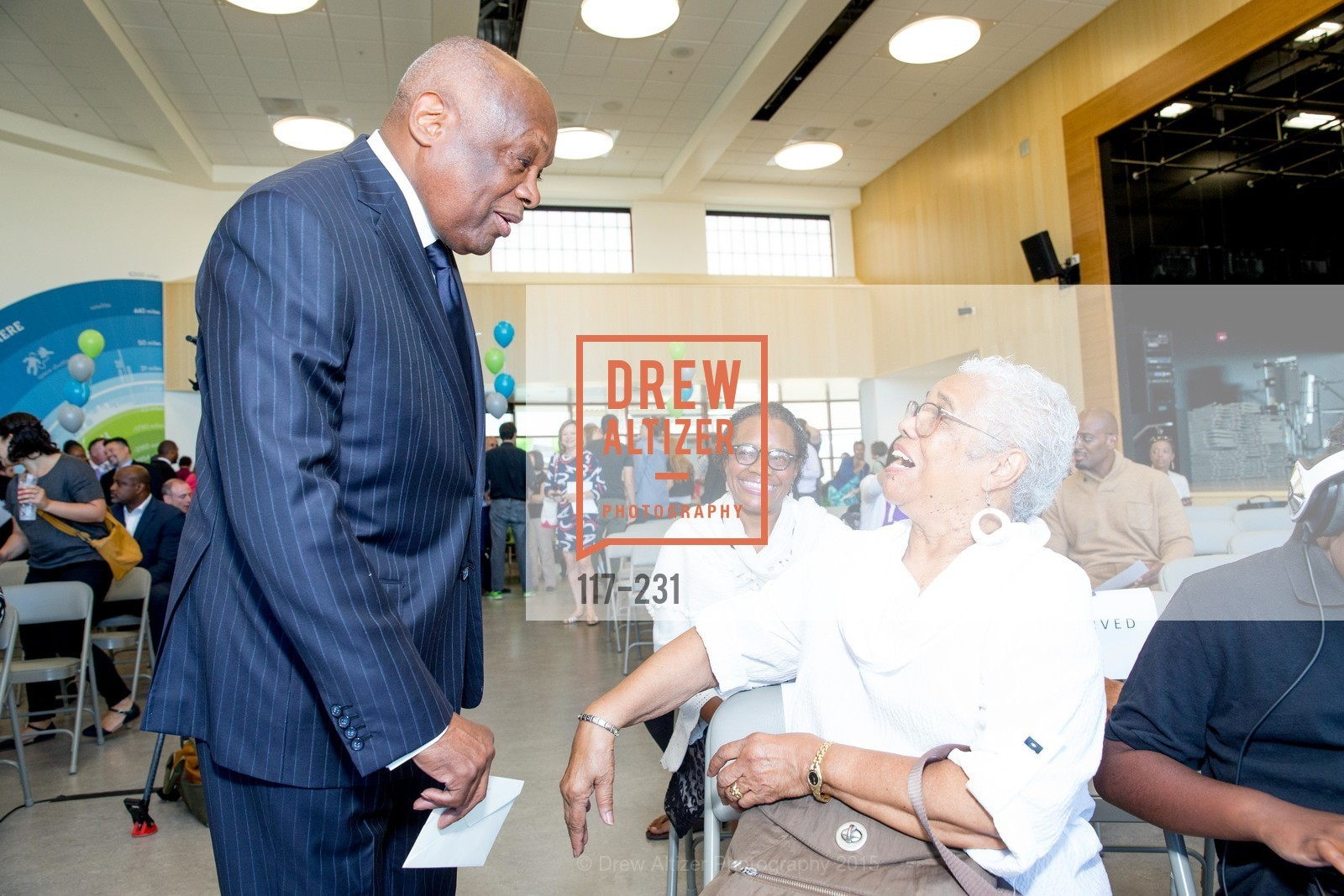 Willie Brown, Susan Brown, Blanche Brown, Willie L. Brown Middle School Ribbon Cutting Ceremony, Willie L. Brown Middle School. 2055 Silver Avenue, August 13th, 2015,Drew Altizer, Drew Altizer Photography, full-service agency, private events, San Francisco photographer, photographer california