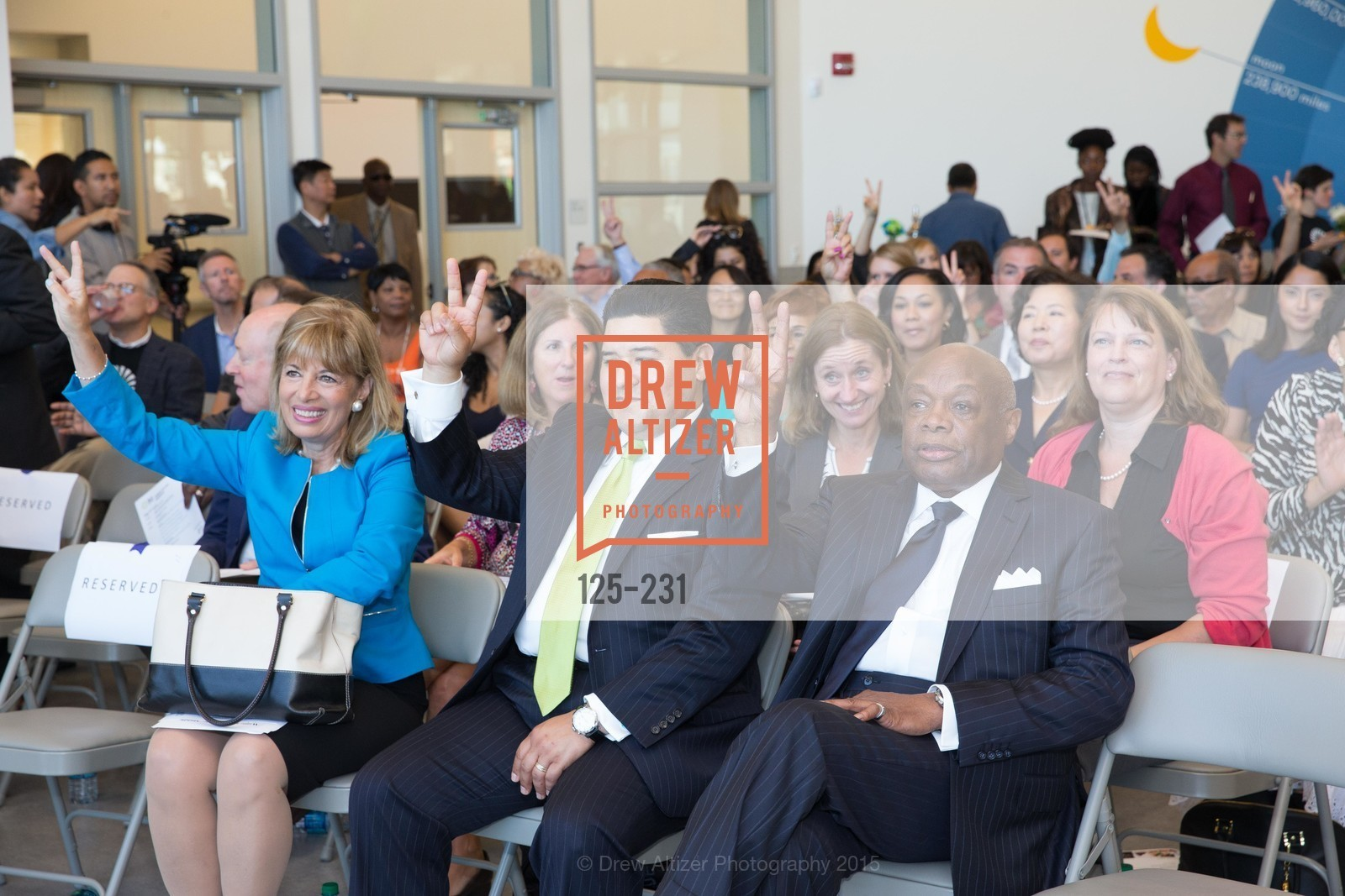 Jackie Speier, Richard Carranza, Willie Brown, Willie L. Brown Middle School Ribbon Cutting Ceremony, Willie L. Brown Middle School. 2055 Silver Avenue, August 13th, 2015,Drew Altizer, Drew Altizer Photography, full-service agency, private events, San Francisco photographer, photographer california