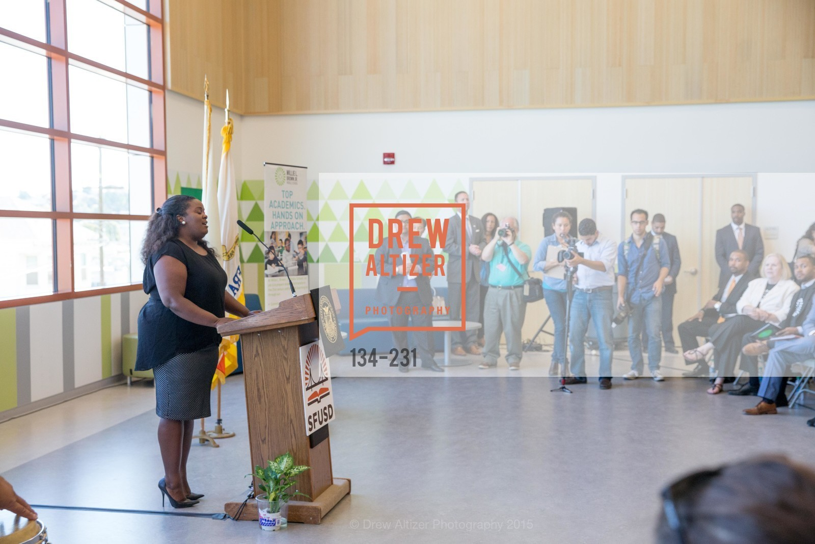 Extras, Willie L. Brown Middle School Ribbon Cutting Ceremony, August 13th, 2015, Photo,Drew Altizer, Drew Altizer Photography, full-service event agency, private events, San Francisco photographer, photographer California