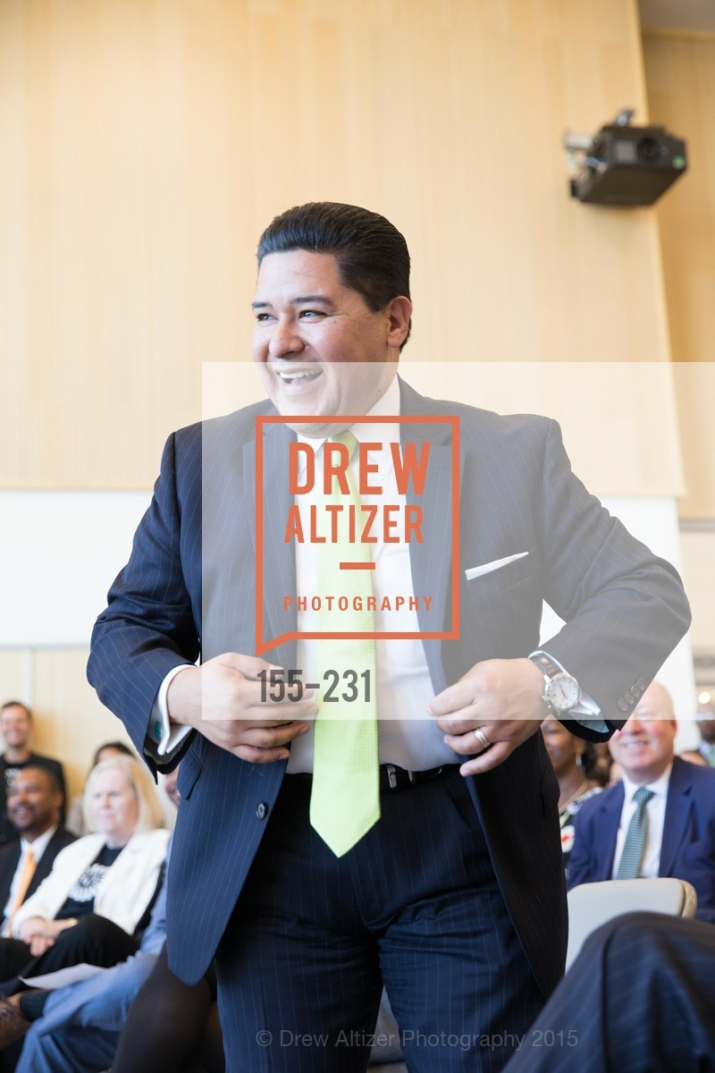 Richard Carranza, Willie L. Brown Middle School Ribbon Cutting Ceremony, Willie L. Brown Middle School. 2055 Silver Avenue, August 13th, 2015,Drew Altizer, Drew Altizer Photography, full-service agency, private events, San Francisco photographer, photographer california