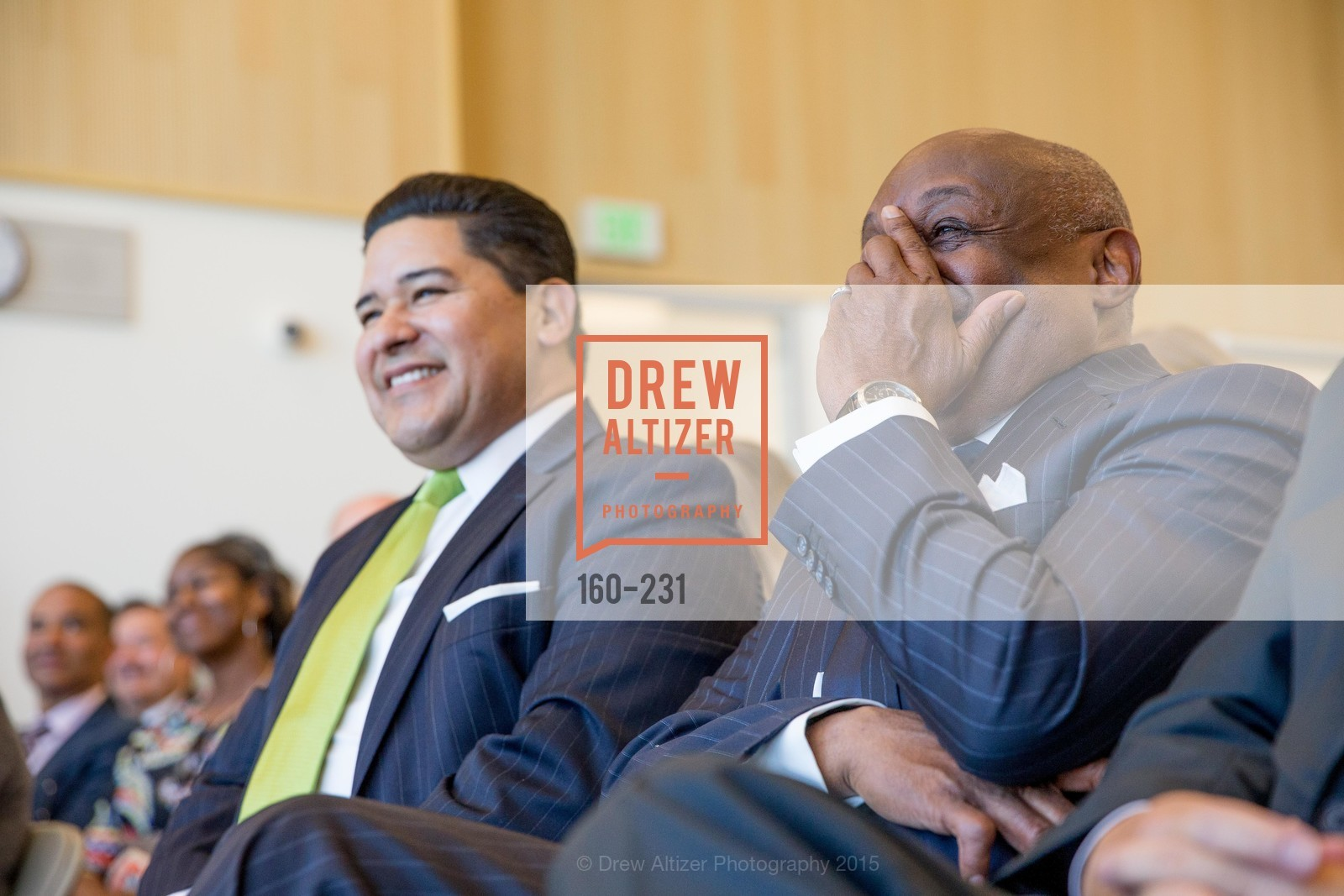 Richard Carranza, Willie Brown, Willie L. Brown Middle School Ribbon Cutting Ceremony, Willie L. Brown Middle School. 2055 Silver Avenue, August 13th, 2015,Drew Altizer, Drew Altizer Photography, full-service event agency, private events, San Francisco photographer, photographer California