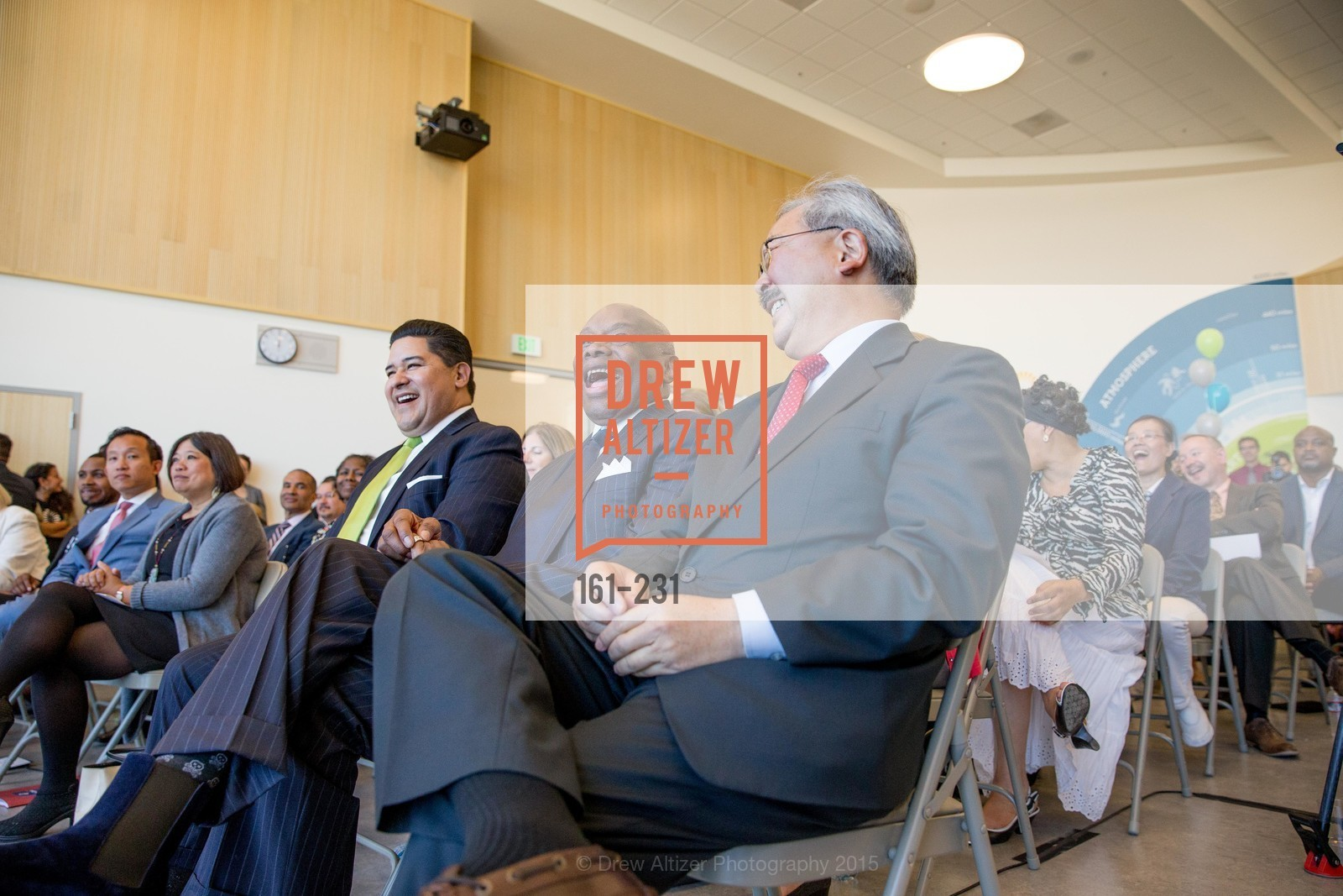 Richard Carranza, Willie Brown, Ed Lee, Willie L. Brown Middle School Ribbon Cutting Ceremony, Willie L. Brown Middle School. 2055 Silver Avenue, August 13th, 2015,Drew Altizer, Drew Altizer Photography, full-service agency, private events, San Francisco photographer, photographer california