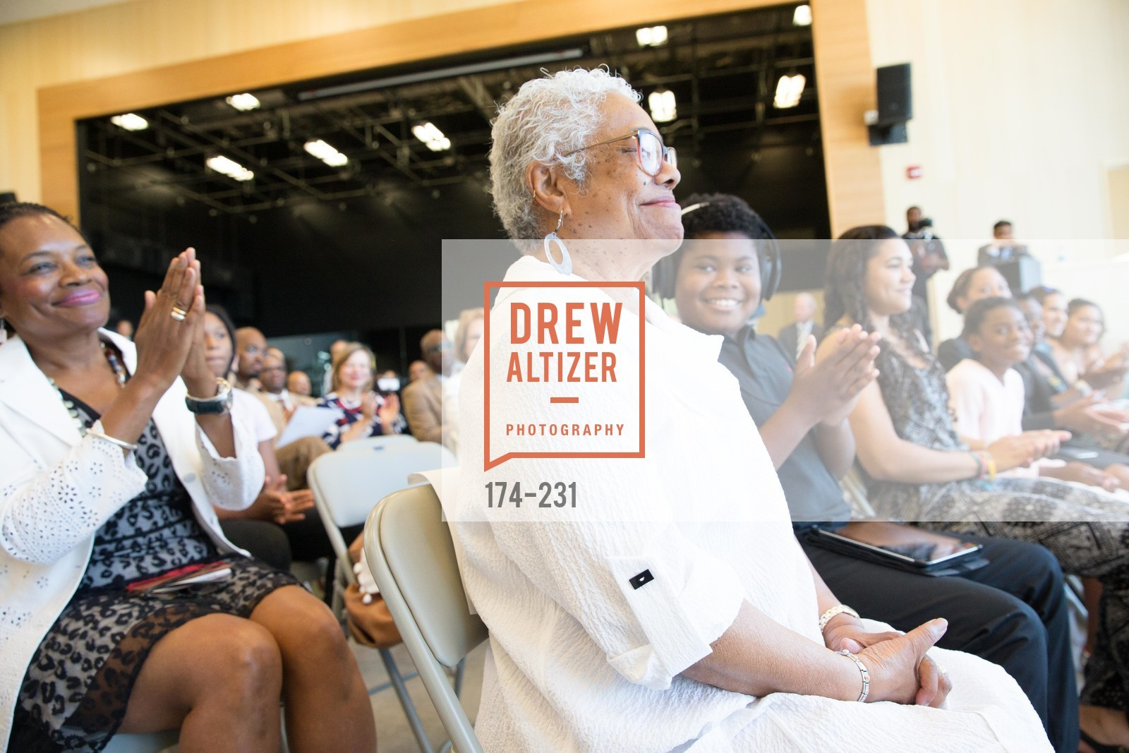 Blanche Brown, Willie L. Brown Middle School Ribbon Cutting Ceremony, Willie L. Brown Middle School. 2055 Silver Avenue, August 13th, 2015,Drew Altizer, Drew Altizer Photography, full-service agency, private events, San Francisco photographer, photographer california