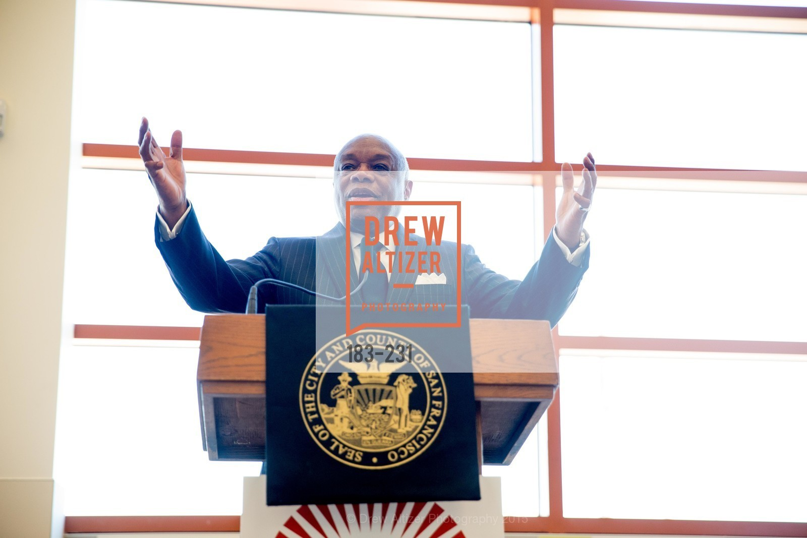 Willie Brown, Willie L. Brown Middle School Ribbon Cutting Ceremony, Willie L. Brown Middle School. 2055 Silver Avenue, August 13th, 2015,Drew Altizer, Drew Altizer Photography, full-service agency, private events, San Francisco photographer, photographer california