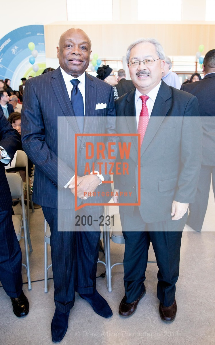 Willie Brown, Ed Lee, Photo #200-231