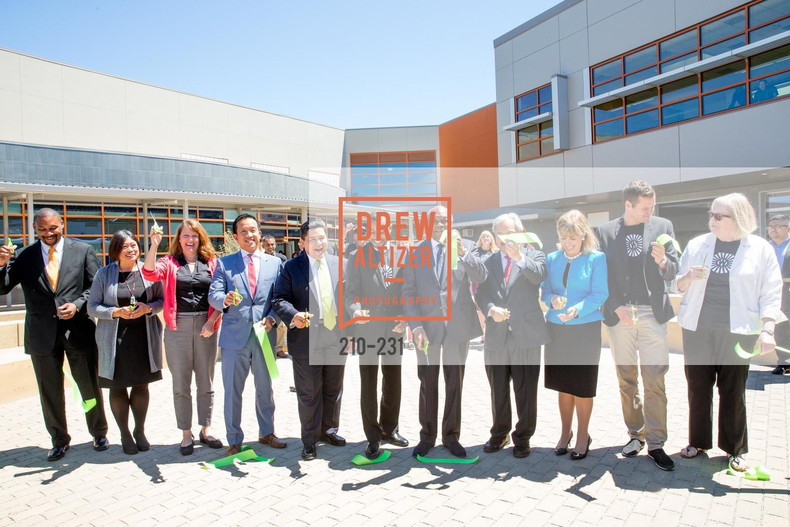 Ribbon Cutting, Willie L. Brown Middle School Ribbon Cutting Ceremony, Willie L. Brown Middle School. 2055 Silver Avenue, August 13th, 2015,Drew Altizer, Drew Altizer Photography, full-service agency, private events, San Francisco photographer, photographer california