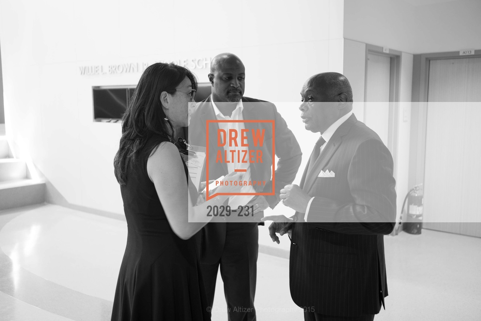 Wayne Jones, Willie Brown, Willie L. Brown Middle School Ribbon Cutting Ceremony, Willie L. Brown Middle School. 2055 Silver Avenue, August 13th, 2015,Drew Altizer, Drew Altizer Photography, full-service agency, private events, San Francisco photographer, photographer california