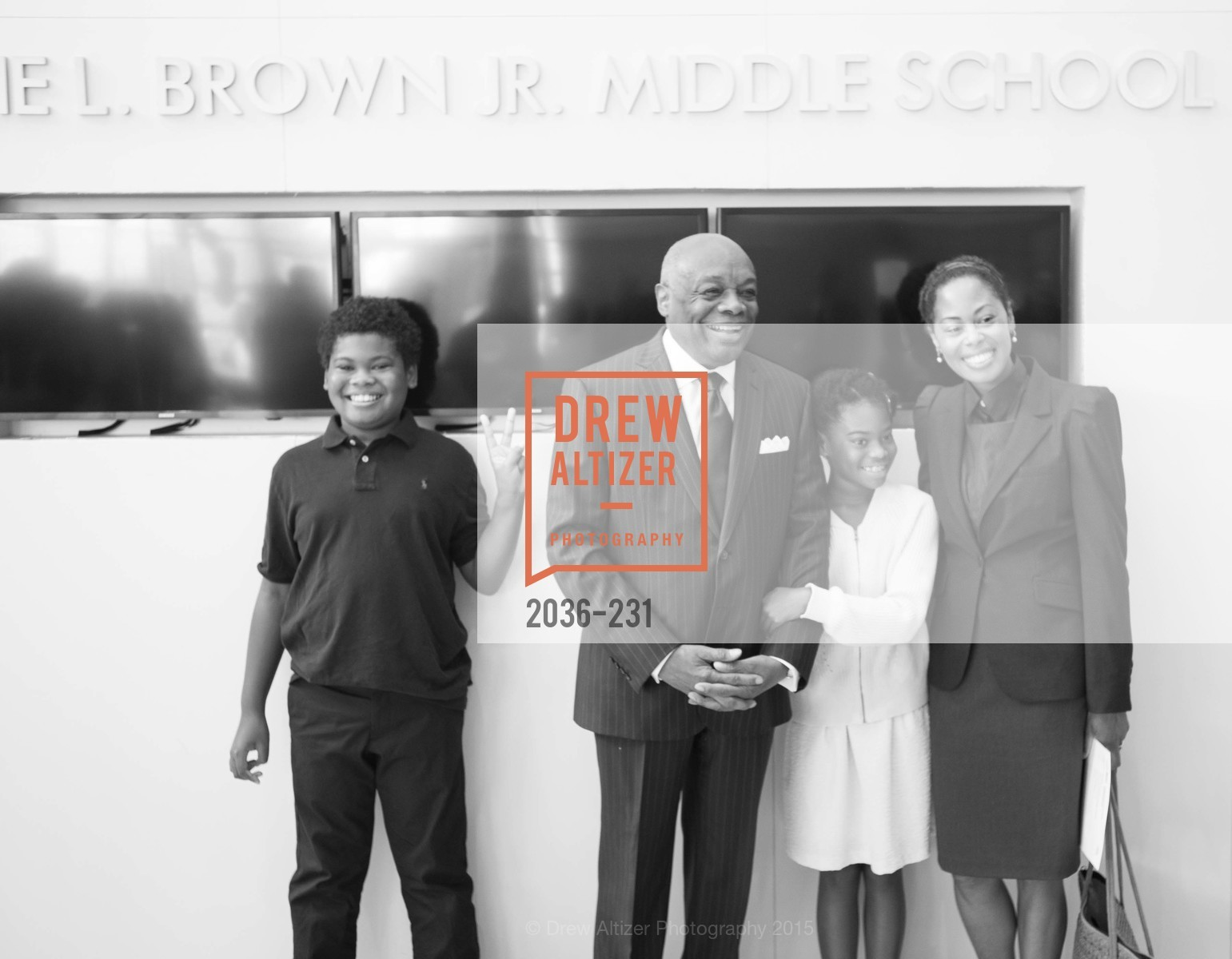 Matea Brown, Lordes Brown, Willie Brown, Isabelle Brown, Photo #2036-231