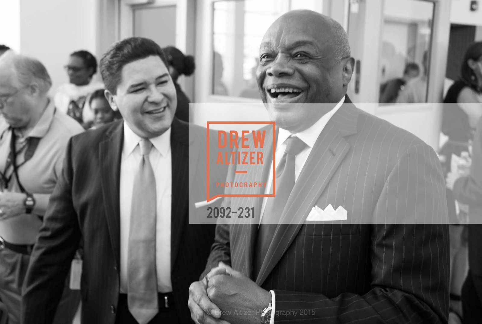Richard Carranza, Willie Brown, Willie L. Brown Middle School Ribbon Cutting Ceremony, Willie L. Brown Middle School. 2055 Silver Avenue, August 13th, 2015,Drew Altizer, Drew Altizer Photography, full-service agency, private events, San Francisco photographer, photographer california