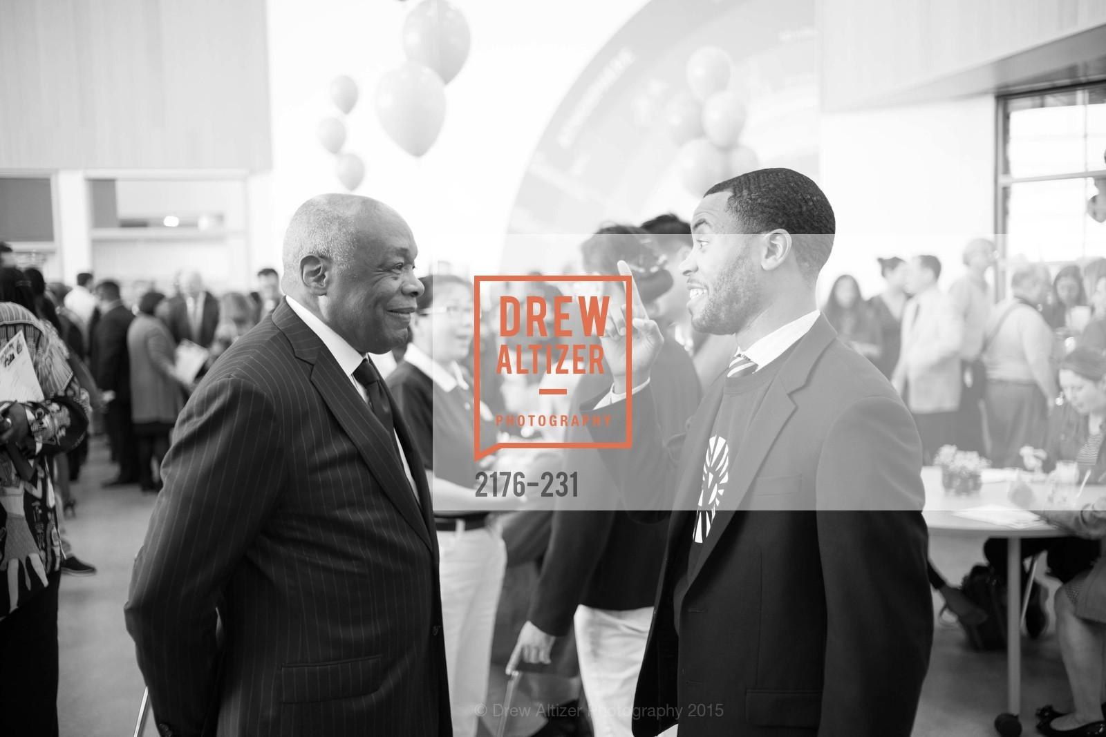 Willie Brown, Demetrius Hobson, Photo #2176-231