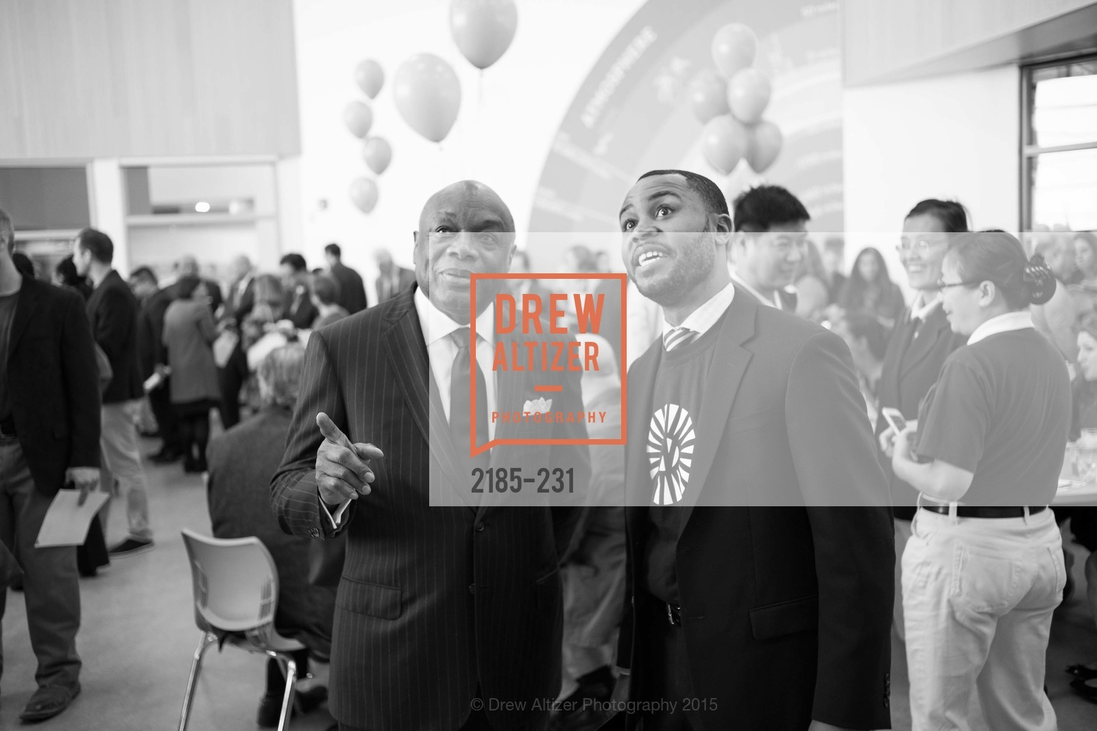 Willie Brown, Demetrius Hobson, Willie L. Brown Middle School Ribbon Cutting Ceremony, Willie L. Brown Middle School. 2055 Silver Avenue, August 13th, 2015,Drew Altizer, Drew Altizer Photography, full-service agency, private events, San Francisco photographer, photographer california