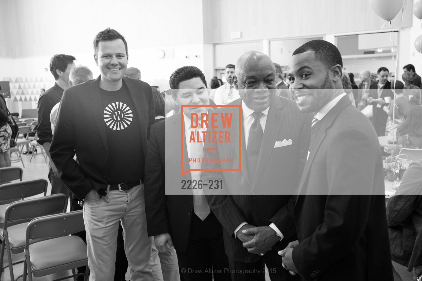 Richard Caranza, Willie Brown, Demetrius Hobson, Willie L. Brown Middle School Ribbon Cutting Ceremony, Willie L. Brown Middle School. 2055 Silver Avenue, August 13th, 2015,Drew Altizer, Drew Altizer Photography, full-service agency, private events, San Francisco photographer, photographer california
