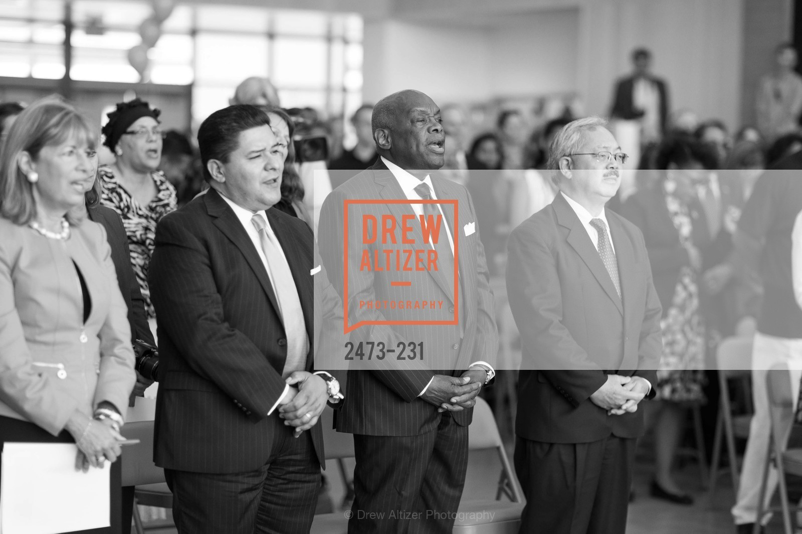 Richard Carranza, Willie Brown, Ed Lee, Photo #2473-231