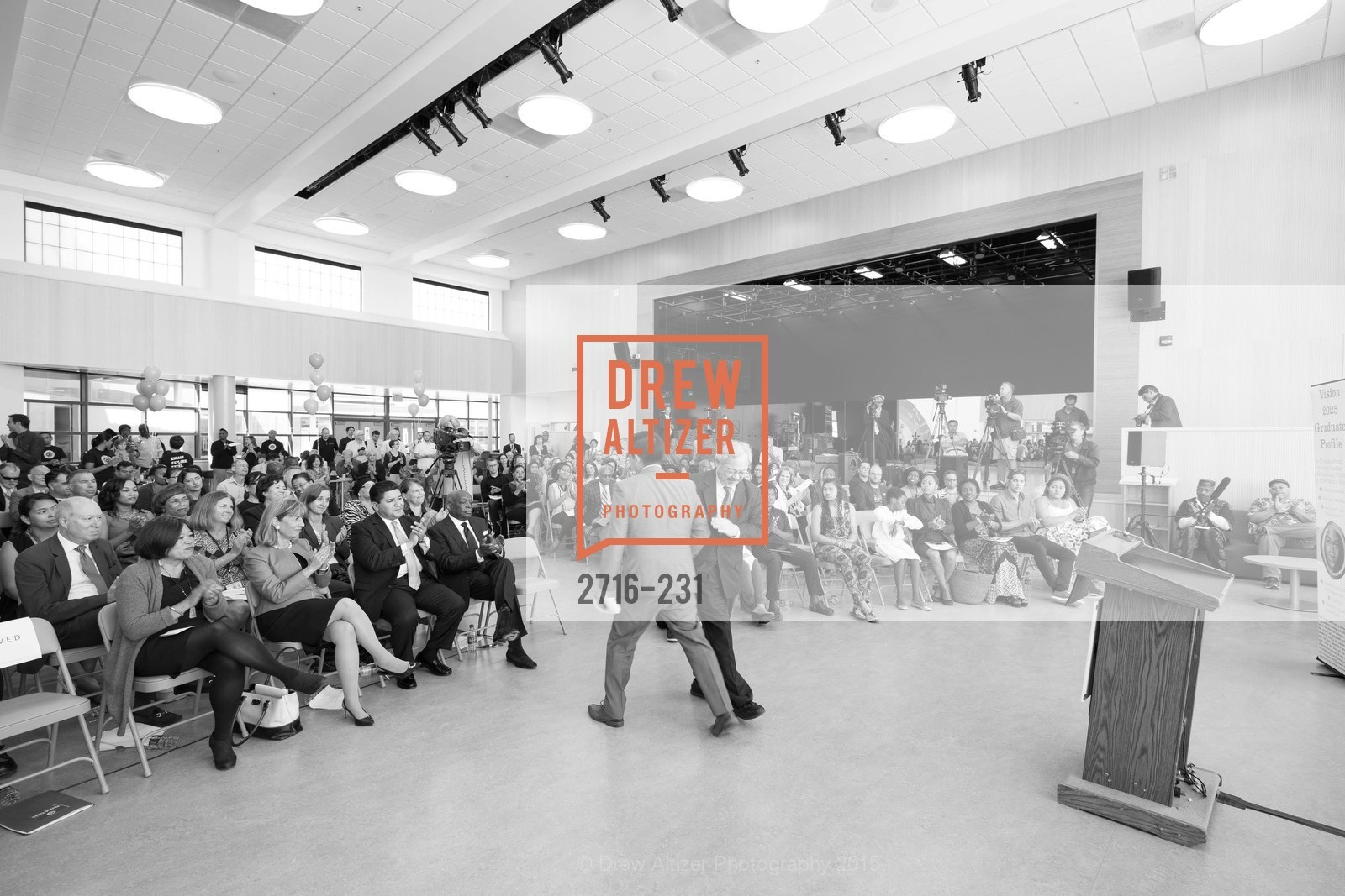 Atmosphere, Willie L. Brown Middle School Ribbon Cutting Ceremony, Willie L. Brown Middle School. 2055 Silver Avenue, August 13th, 2015,Drew Altizer, Drew Altizer Photography, full-service agency, private events, San Francisco photographer, photographer california