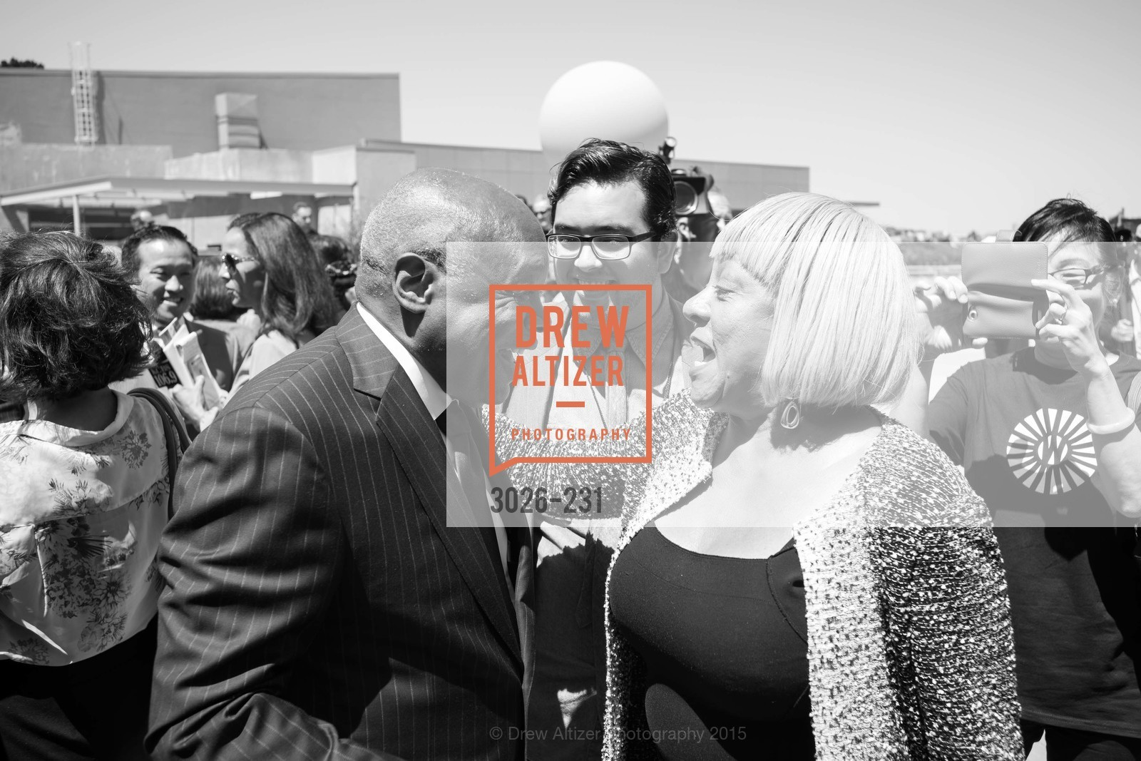 Willie Brown, Brenda Wright, Willie L. Brown Middle School Ribbon Cutting Ceremony, Willie L. Brown Middle School. 2055 Silver Avenue, August 13th, 2015,Drew Altizer, Drew Altizer Photography, full-service agency, private events, San Francisco photographer, photographer california