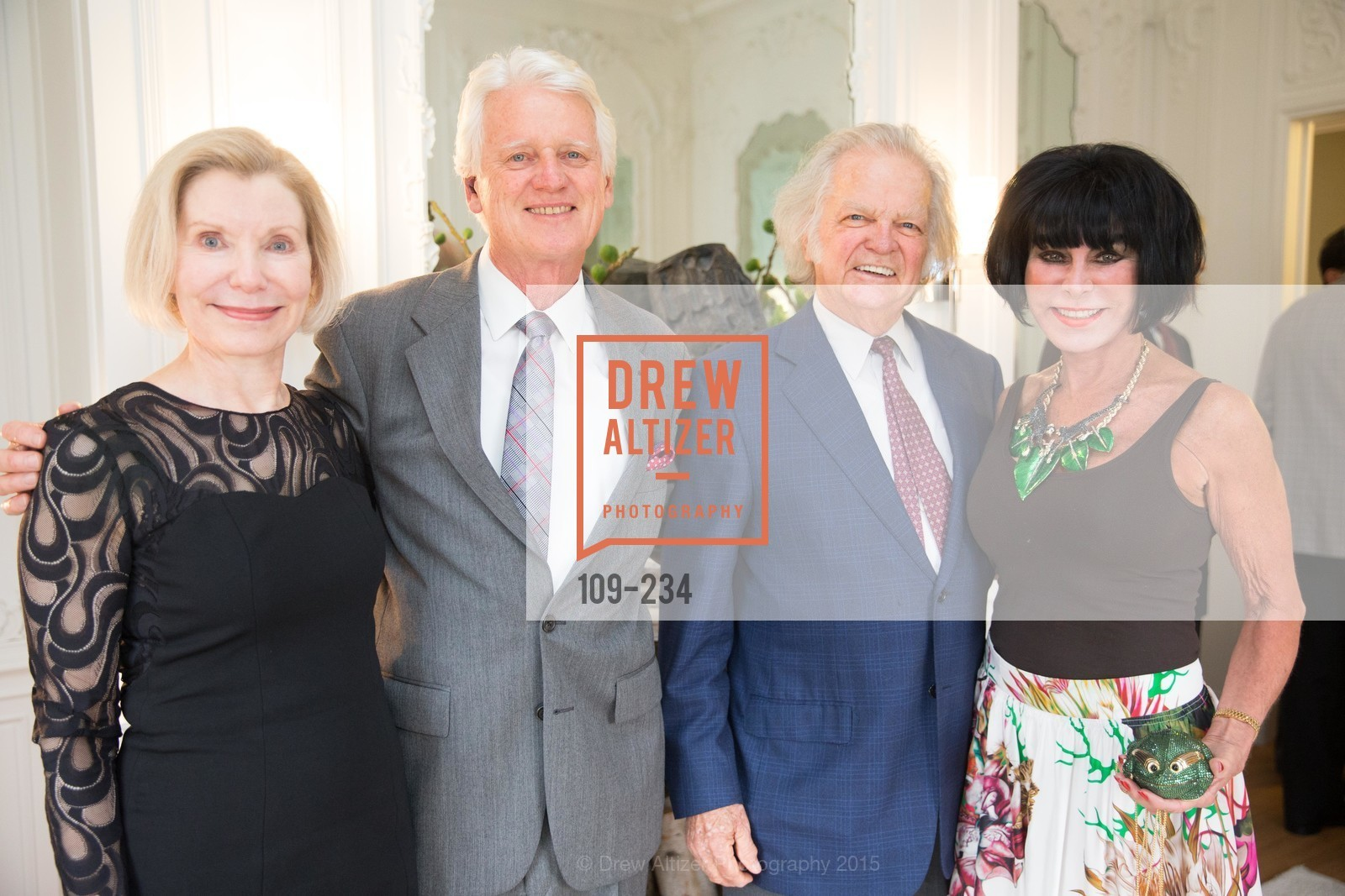 Barbara Traisman, Klaus Murer, Marilyn Cabak, Michael Cabak, San Francisco Opera Ball 2015 Patron Party, Private Residence, August 19th, 2015,Drew Altizer, Drew Altizer Photography, full-service agency, private events, San Francisco photographer, photographer california