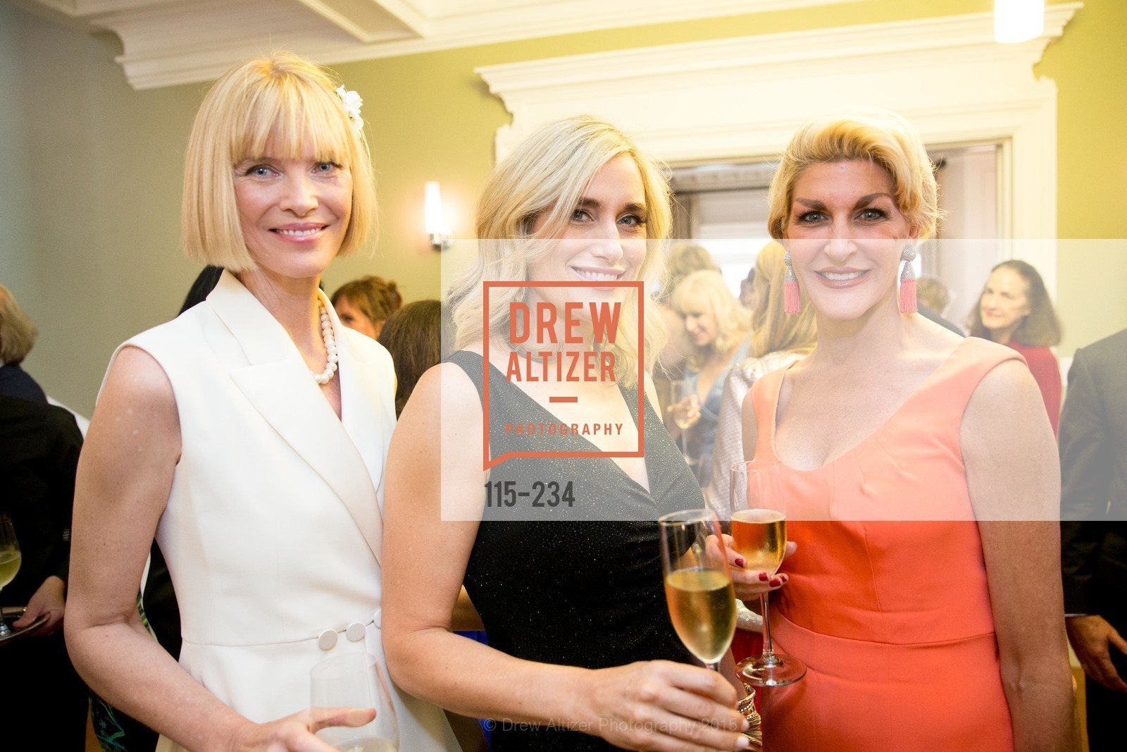 Karen Richardson, Renata Anderson, Karen Caldwell, San Francisco Opera Ball 2015 Patron Party, Private Residence, August 19th, 2015,Drew Altizer, Drew Altizer Photography, full-service agency, private events, San Francisco photographer, photographer california