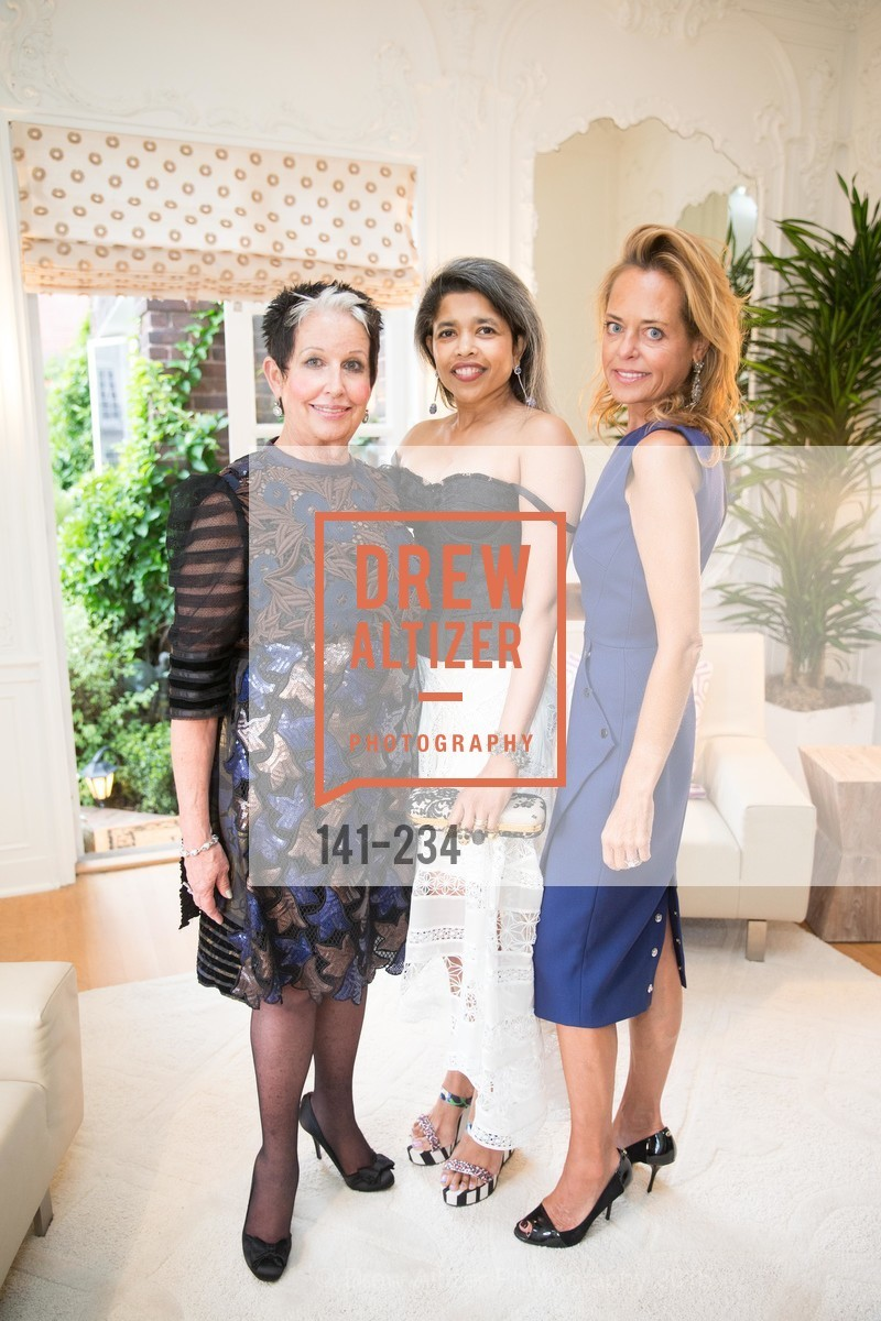 Karen Kubin, Deepa Pakianathan, Charlot Malin, San Francisco Opera Ball 2015 Patron Party, Private Residence, August 19th, 2015,Drew Altizer, Drew Altizer Photography, full-service agency, private events, San Francisco photographer, photographer california