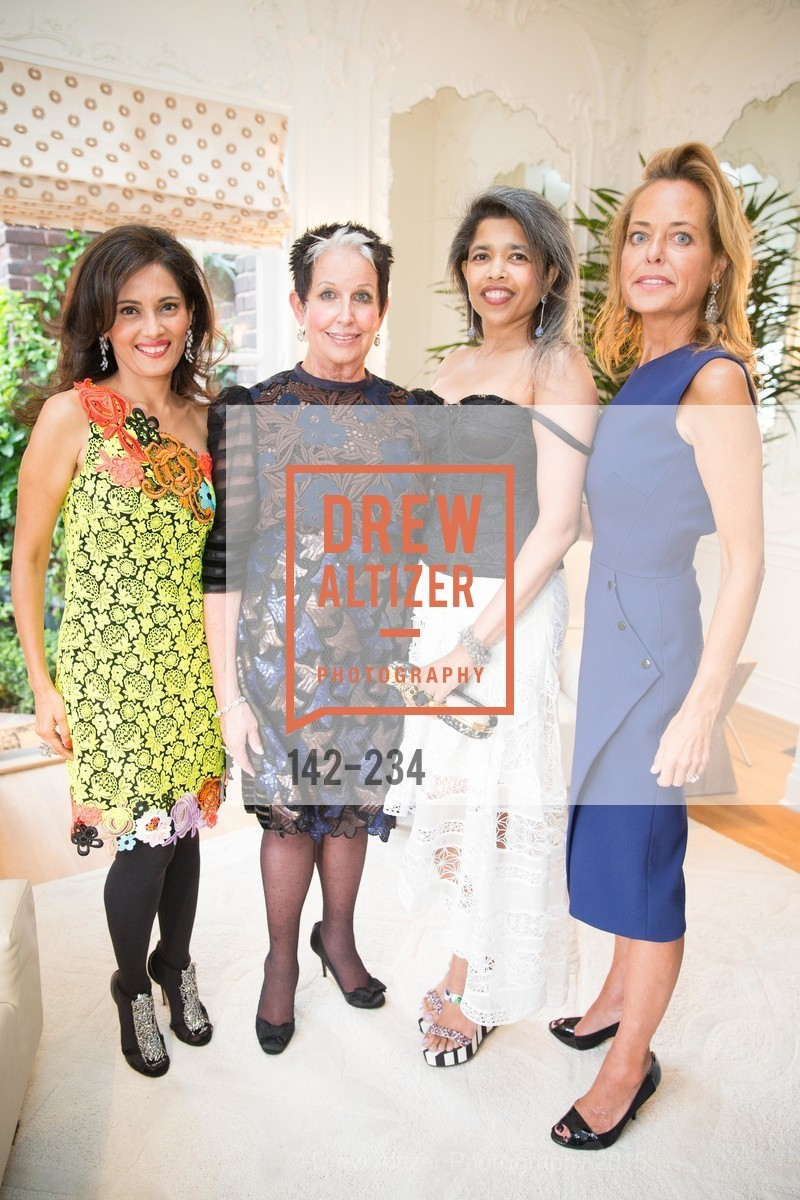 Kamal Shah, Karen Kubin, Deepa Pakianathan, Charlot Malin, San Francisco Opera Ball 2015 Patron Party, Private Residence, August 19th, 2015,Drew Altizer, Drew Altizer Photography, full-service agency, private events, San Francisco photographer, photographer california