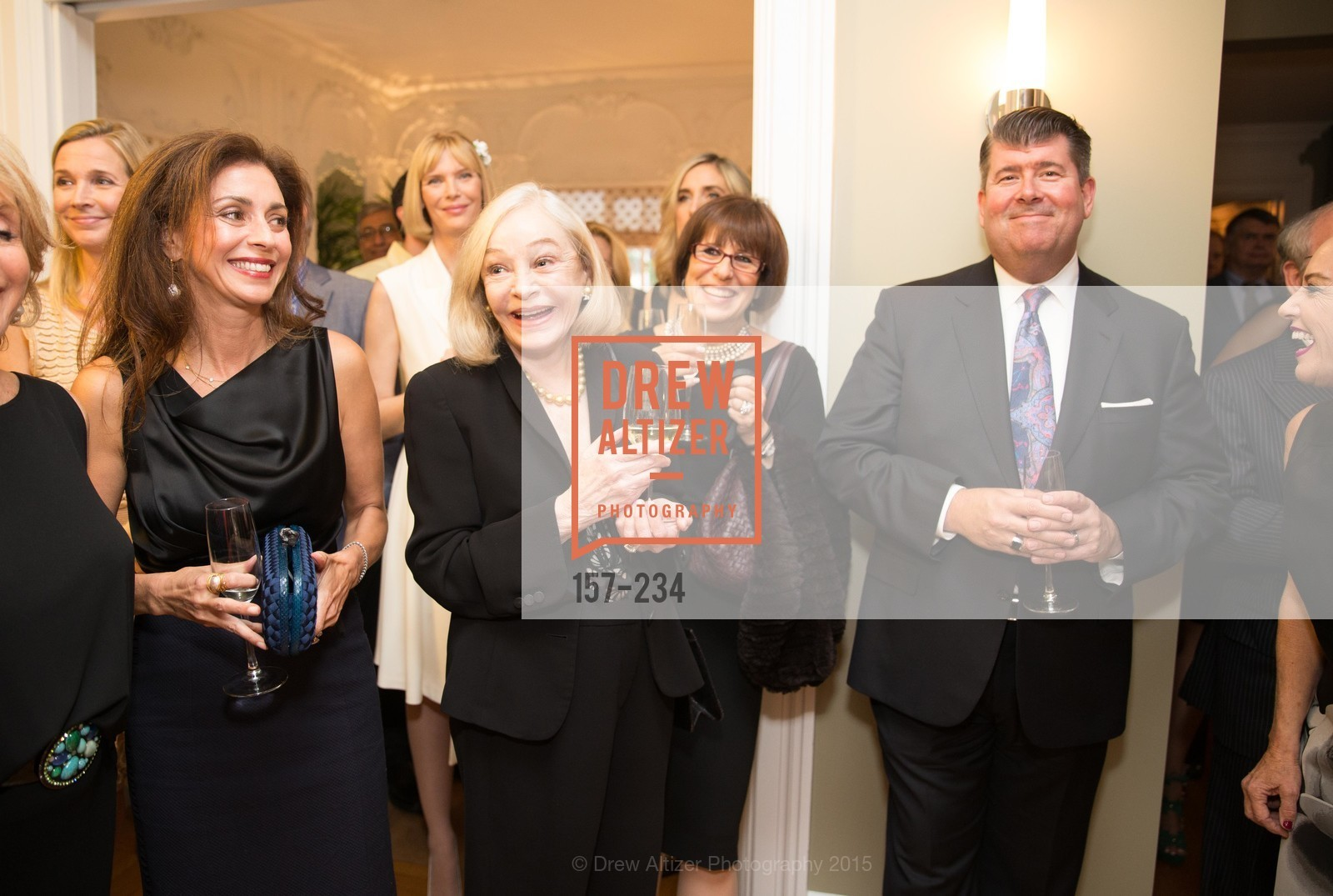 Maryam Muduroglu, Gretchen Kimball, Terri Mino, Alan Morrell, San Francisco Opera Ball 2015 Patron Party, Private Residence, August 19th, 2015,Drew Altizer, Drew Altizer Photography, full-service agency, private events, San Francisco photographer, photographer california