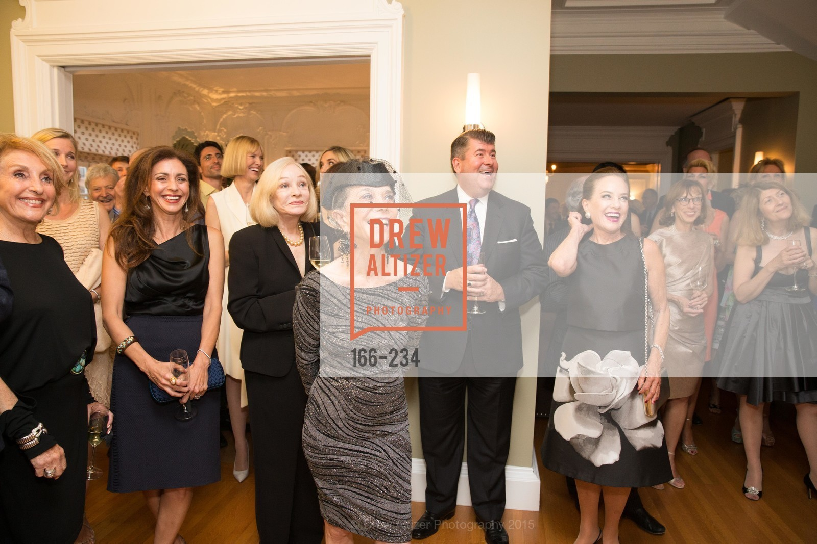 Nazan Orr, Maryam Muduroglu, Gretchen Kimball, Julie Coplon, Alan Morrell, Robin Collins, San Francisco Opera Ball 2015 Patron Party, Private Residence, August 19th, 2015,Drew Altizer, Drew Altizer Photography, full-service agency, private events, San Francisco photographer, photographer california