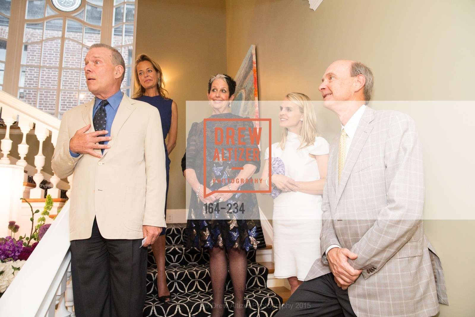 David Gockley, Charlot Malin, Karen Kubin, Jane Mudge, Keith Geelin, San Francisco Opera Ball 2015 Patron Party, Private Residence, August 19th, 2015