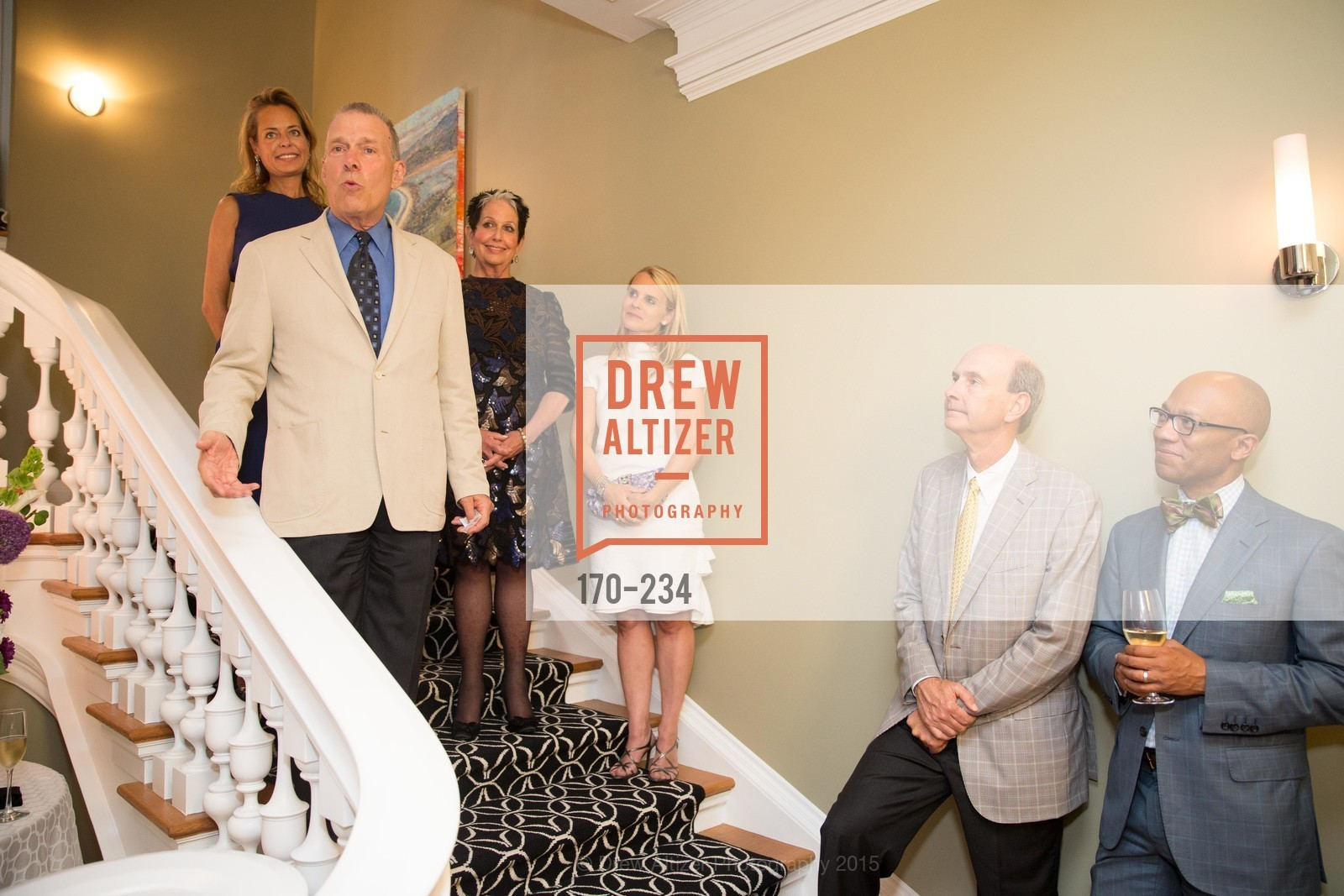 Charlot Malin, David Gockley, Karen Kubin, Jane Mudge, San Francisco Opera Ball 2015 Patron Party, Private Residence, August 19th, 2015,Drew Altizer, Drew Altizer Photography, full-service agency, private events, San Francisco photographer, photographer california