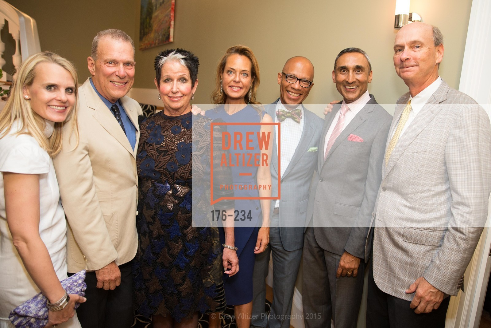 Jane Mudge, David Gockley, Karen Kubin, Charlot Malin, Ken McNeely, Inder Dhillon, Keith Geeslin, San Francisco Opera Ball 2015 Patron Party, Private Residence, August 19th, 2015,Drew Altizer, Drew Altizer Photography, full-service agency, private events, San Francisco photographer, photographer california