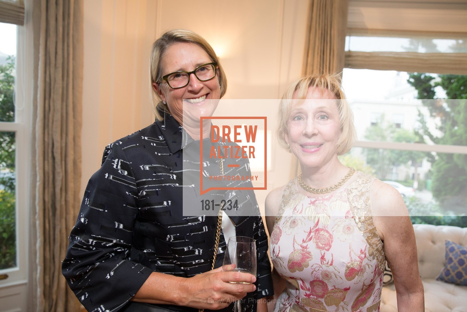 Priscilla Geeslin, Pamela Rigg, San Francisco Opera Ball 2015 Patron Party, Private Residence, August 19th, 2015,Drew Altizer, Drew Altizer Photography, full-service agency, private events, San Francisco photographer, photographer california