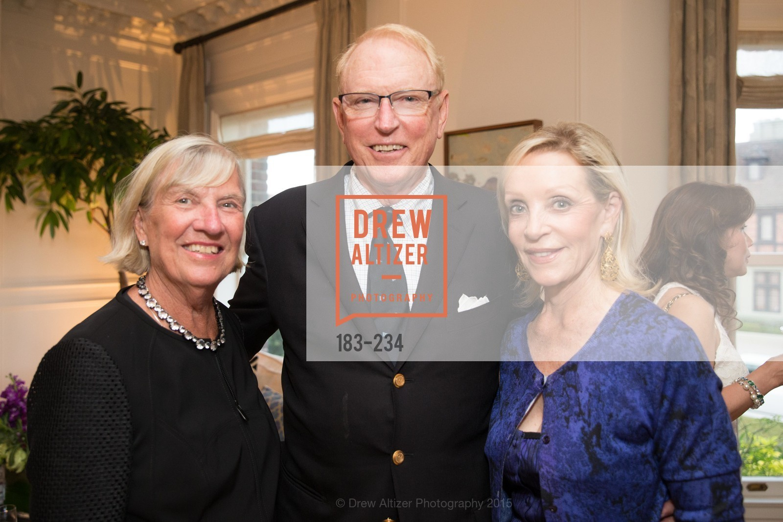 Karin Chamberlain, David Chamberlain, Barbara Brown, San Francisco Opera Ball 2015 Patron Party, Private Residence, August 19th, 2015,Drew Altizer, Drew Altizer Photography, full-service event agency, private events, San Francisco photographer, photographer California
