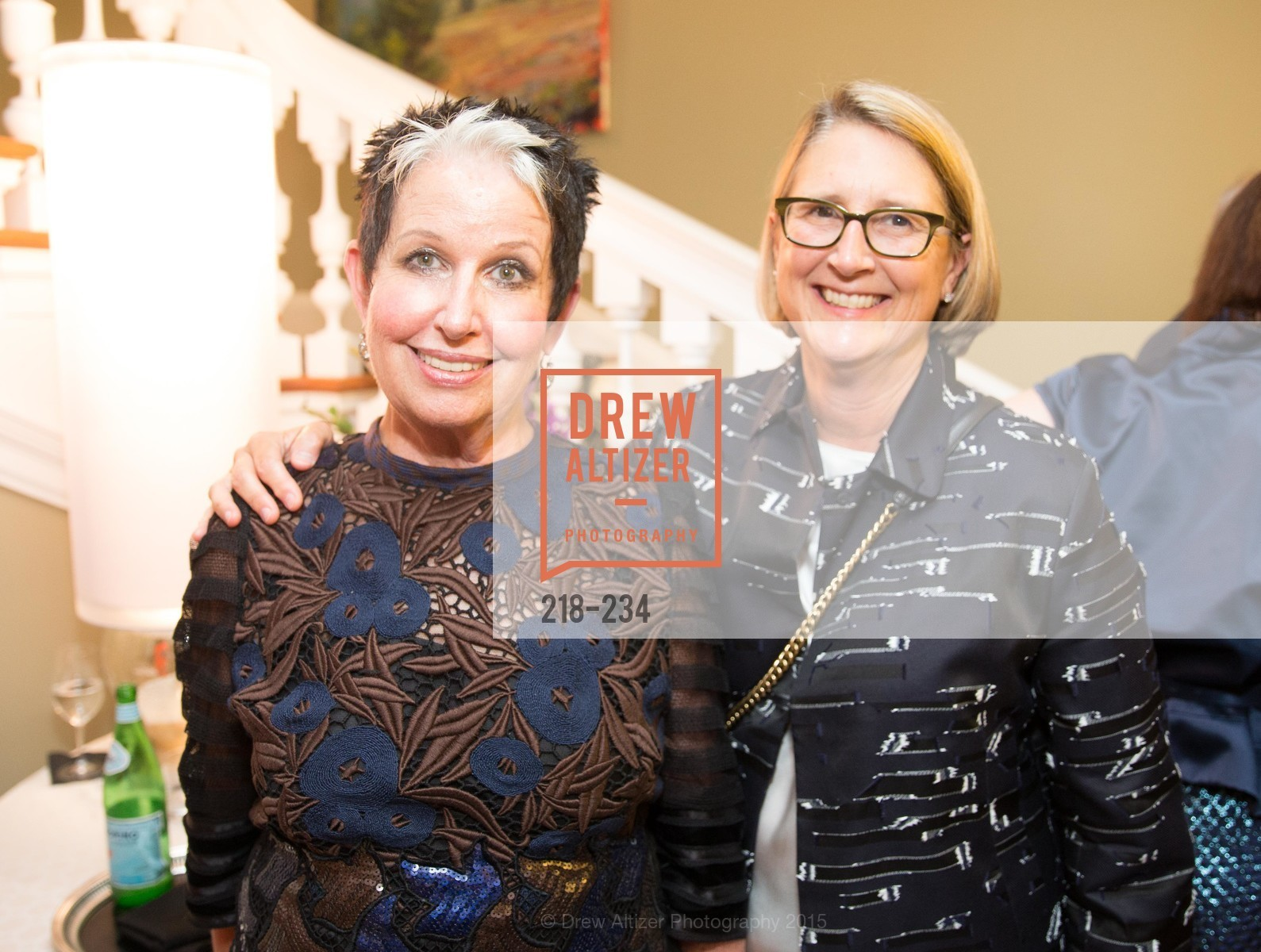Karen Kubin, Priscilla Geeslin, San Francisco Opera Ball 2015 Patron Party, Private Residence, August 19th, 2015,Drew Altizer, Drew Altizer Photography, full-service agency, private events, San Francisco photographer, photographer california