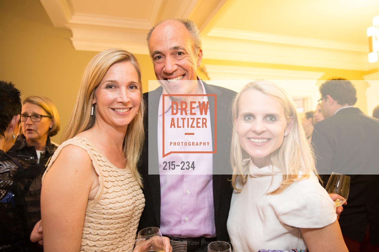 Courtney Labe, Jim Labe, Jane Mudge, San Francisco Opera Ball 2015 Patron Party, Private Residence, August 19th, 2015,Drew Altizer, Drew Altizer Photography, full-service agency, private events, San Francisco photographer, photographer california