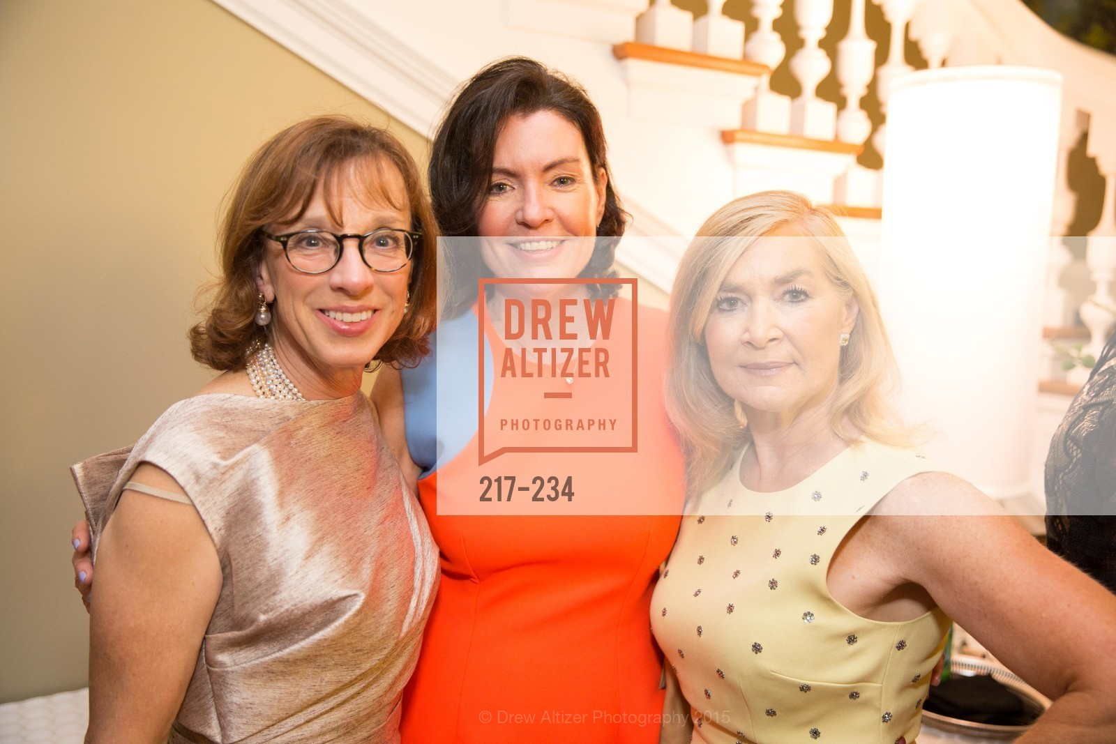Diana Kissil, Elizabeth Birka-White, Lynn Edminster, San Francisco Opera Ball 2015 Patron Party, Private Residence, August 19th, 2015,Drew Altizer, Drew Altizer Photography, full-service agency, private events, San Francisco photographer, photographer california