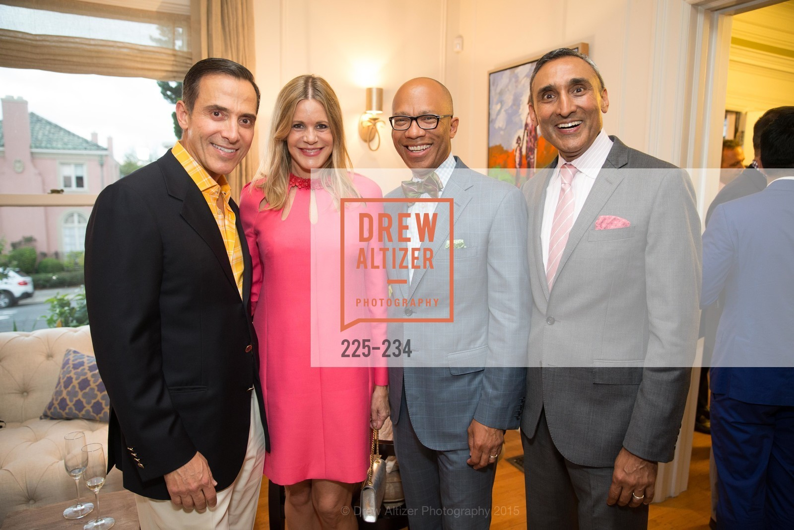 Alan Malouf, Mary Beth Shimmon, Ken McNeely, Inder Dhillon, San Francisco Opera Ball 2015 Patron Party, Private Residence, August 19th, 2015,Drew Altizer, Drew Altizer Photography, full-service agency, private events, San Francisco photographer, photographer california