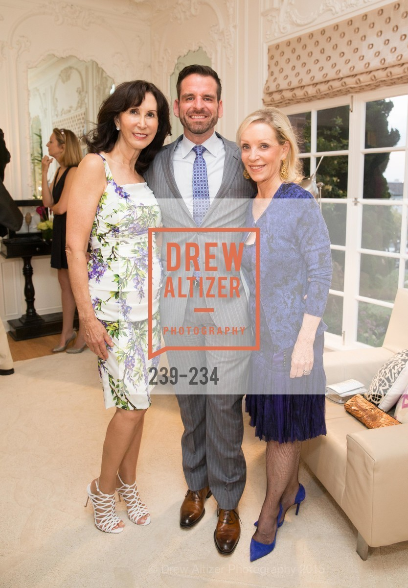 Carolyn Chandler, Ryan Williams, Barbara Brown, San Francisco Opera Ball 2015 Patron Party, Private Residence, August 19th, 2015,Drew Altizer, Drew Altizer Photography, full-service agency, private events, San Francisco photographer, photographer california