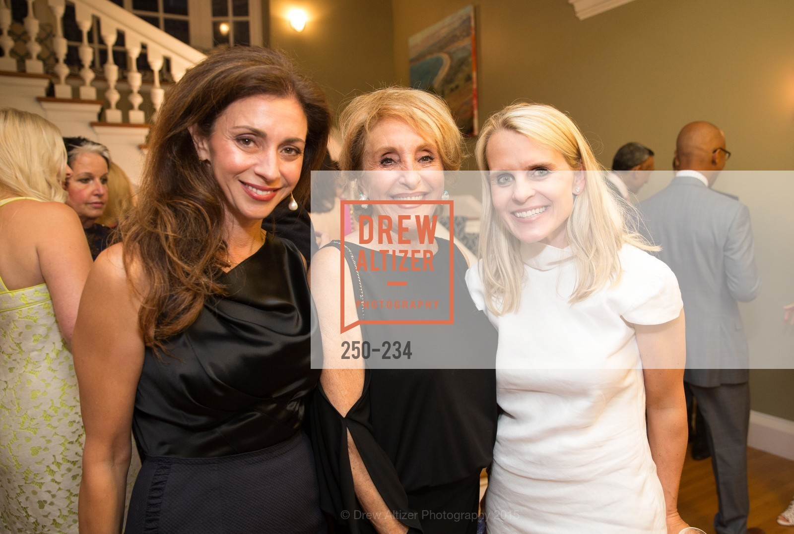 Maryam Muduroglu, Nazan Orr, Janes Mudge, San Francisco Opera Ball 2015 Patron Party, Private Residence, August 19th, 2015,Drew Altizer, Drew Altizer Photography, full-service agency, private events, San Francisco photographer, photographer california