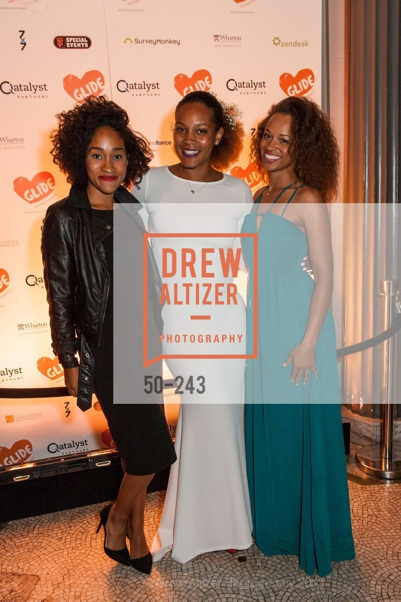 Lealah Johnson, Chinaka Hodge, Nicole Tatum-Ramos, 6TH ANNUAL GLIDE LEGACY GALA, The Regency Ballroom. 1300 Van Ness Ave, August 22nd, 2015,Drew Altizer, Drew Altizer Photography, full-service agency, private events, San Francisco photographer, photographer california