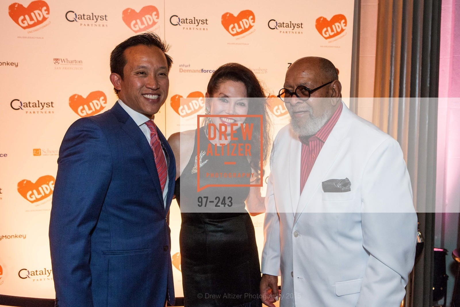 David Chiu, Janice Mirikitani, Cecil Williams, 6TH ANNUAL GLIDE LEGACY GALA, The Regency Ballroom. 1300 Van Ness Ave, August 22nd, 2015,Drew Altizer, Drew Altizer Photography, full-service agency, private events, San Francisco photographer, photographer california