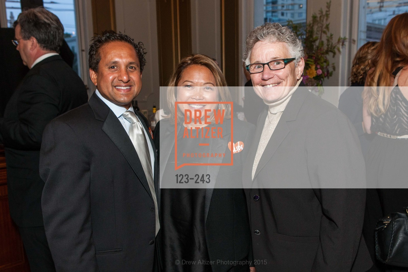 Steve Akram, Mary Paul Akram, Dixie Horning, 6TH ANNUAL GLIDE LEGACY GALA, The Regency Ballroom. 1300 Van Ness Ave, August 22nd, 2015,Drew Altizer, Drew Altizer Photography, full-service agency, private events, San Francisco photographer, photographer california