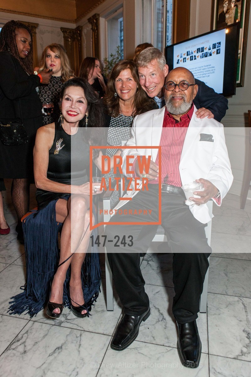 Janice Mirikitani, Cathy Crawford, Pete Sittnick, Cecil Williams, 6TH ANNUAL GLIDE LEGACY GALA, The Regency Ballroom. 1300 Van Ness Ave, August 22nd, 2015,Drew Altizer, Drew Altizer Photography, full-service agency, private events, San Francisco photographer, photographer california