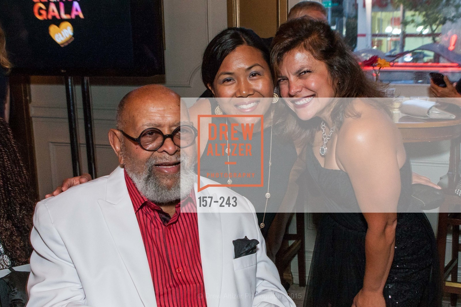 Cecil Williams, Shirley Manan, Georgeann Garcia Arana, 6TH ANNUAL GLIDE LEGACY GALA, The Regency Ballroom. 1300 Van Ness Ave, August 22nd, 2015,Drew Altizer, Drew Altizer Photography, full-service agency, private events, San Francisco photographer, photographer california