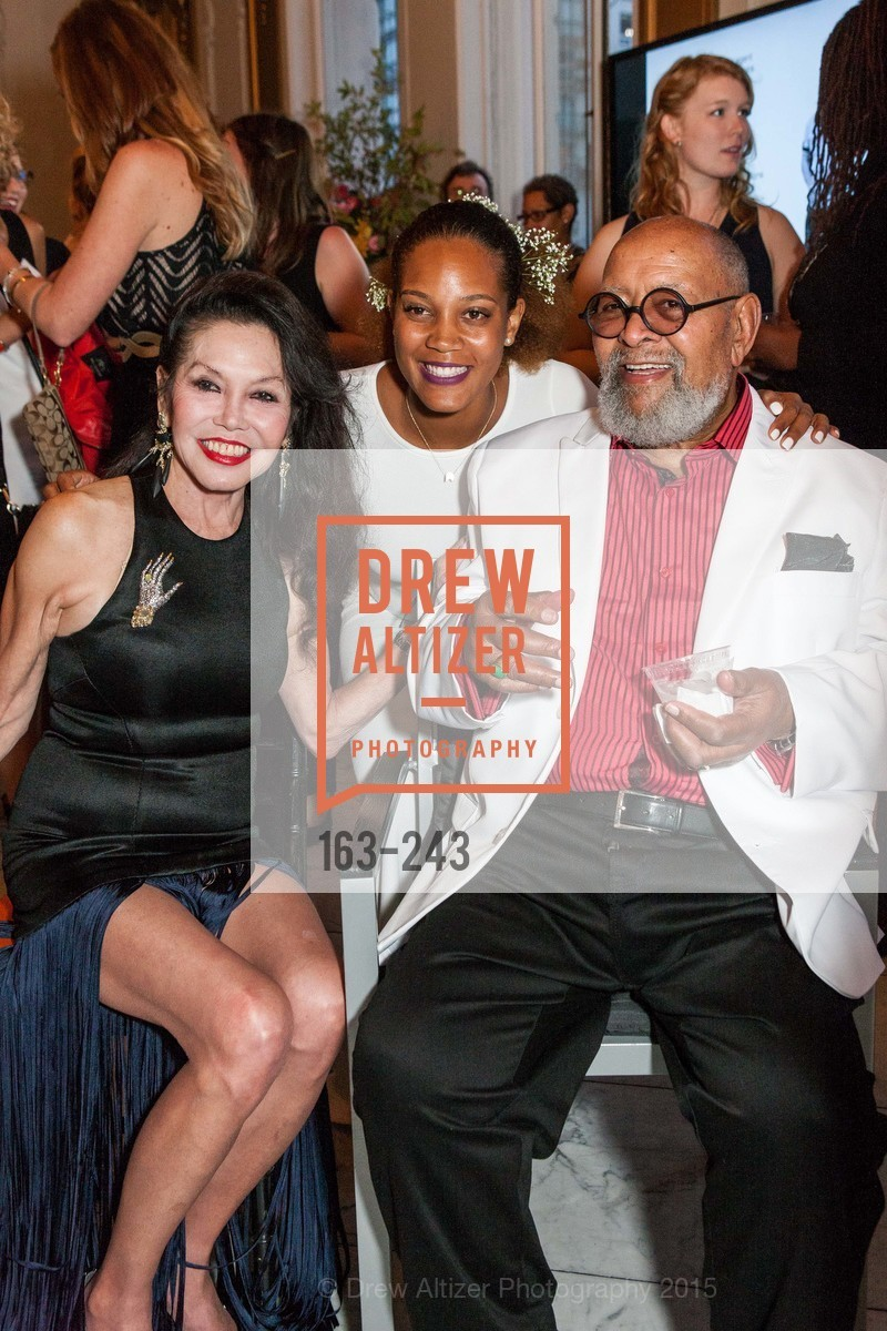 Janice Mirikitani, Chinaka Hodge, Cecil Williams, Photo #163-243