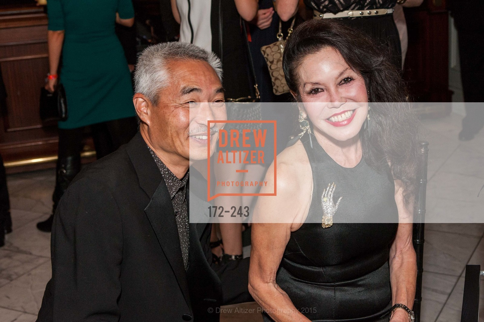 Rod Henmi, Janice Mirikitani, 6TH ANNUAL GLIDE LEGACY GALA, The Regency Ballroom. 1300 Van Ness Ave, August 22nd, 2015,Drew Altizer, Drew Altizer Photography, full-service agency, private events, San Francisco photographer, photographer california