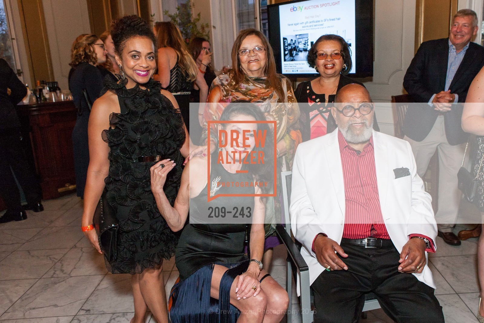 Felicia Horowitz, Janice Mirikitani, Loretta Wiley, Josie Jordan, Cecil Williams, 6TH ANNUAL GLIDE LEGACY GALA, The Regency Ballroom. 1300 Van Ness Ave, August 22nd, 2015,Drew Altizer, Drew Altizer Photography, full-service agency, private events, San Francisco photographer, photographer california