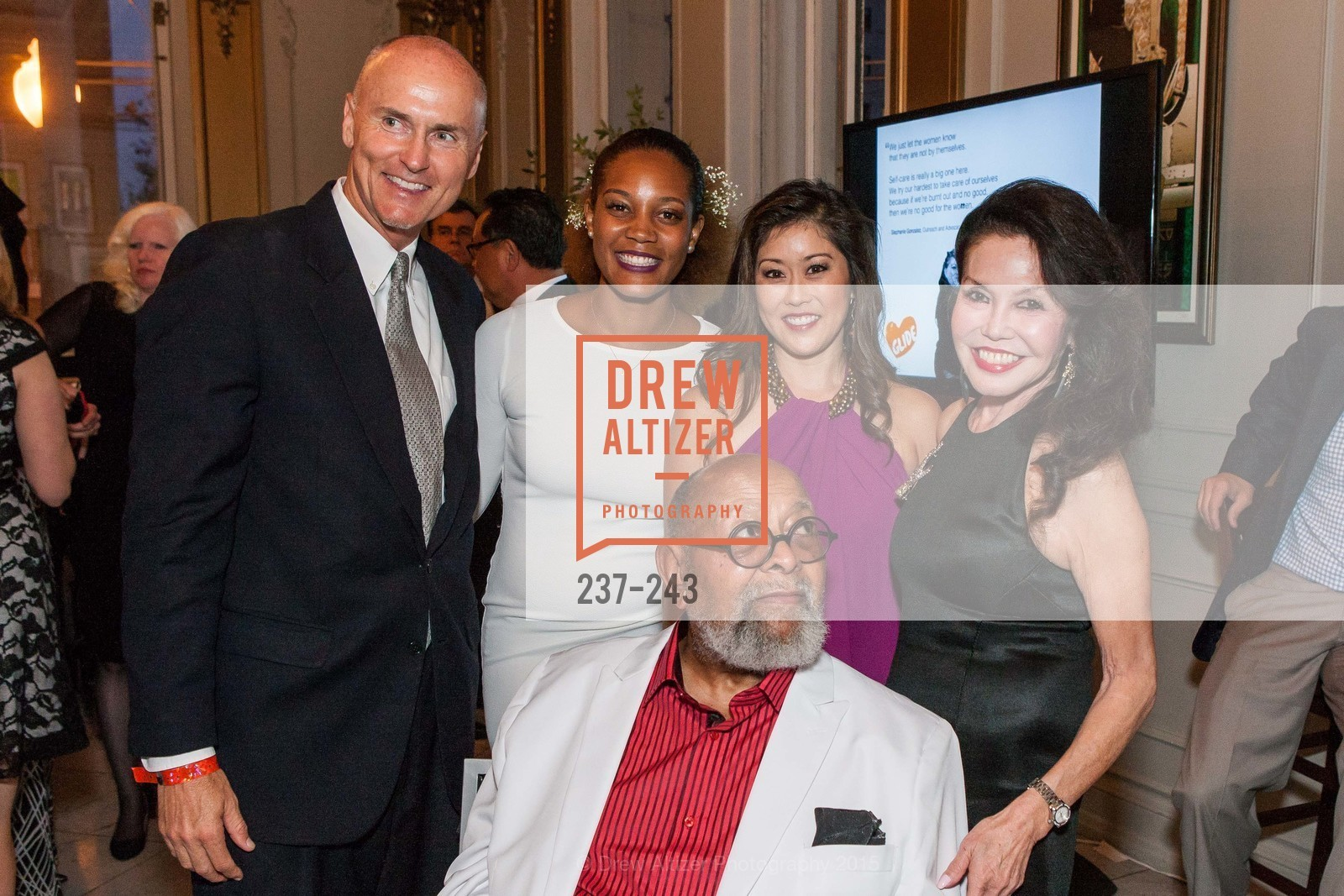 Chip Conley, Chinaka Hodge, Kristi Yamaguchi, Cecil Williams, Janice Mirikitani, 6TH ANNUAL GLIDE LEGACY GALA, The Regency Ballroom. 1300 Van Ness Ave, August 22nd, 2015,Drew Altizer, Drew Altizer Photography, full-service agency, private events, San Francisco photographer, photographer california