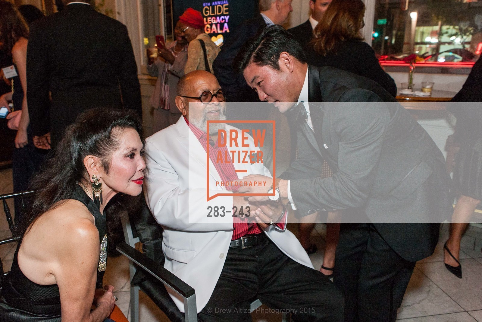 Janice Mirikitani, Cecil Williams, Mike Kim, 6TH ANNUAL GLIDE LEGACY GALA, The Regency Ballroom. 1300 Van Ness Ave, August 22nd, 2015,Drew Altizer, Drew Altizer Photography, full-service agency, private events, San Francisco photographer, photographer california
