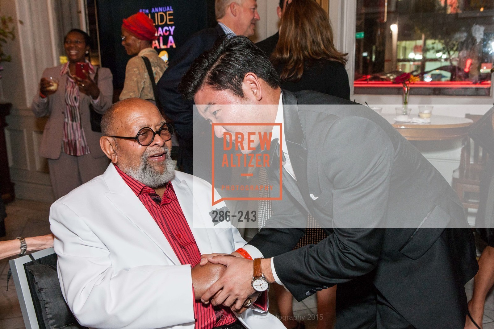 Cecil Williams, Mike Kim, 6TH ANNUAL GLIDE LEGACY GALA, The Regency Ballroom. 1300 Van Ness Ave, August 22nd, 2015,Drew Altizer, Drew Altizer Photography, full-service agency, private events, San Francisco photographer, photographer california